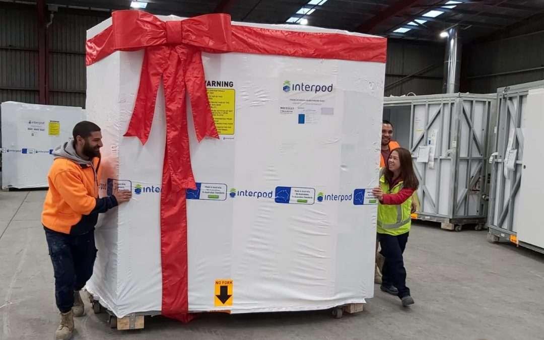 23,000 Bathroom Pods milestone, mitigating project risks across Australia & New Zealand